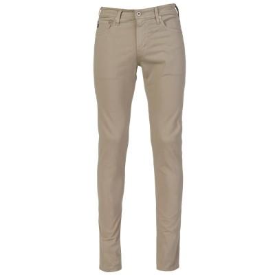 AG Jeans Beige Skinny Trousers