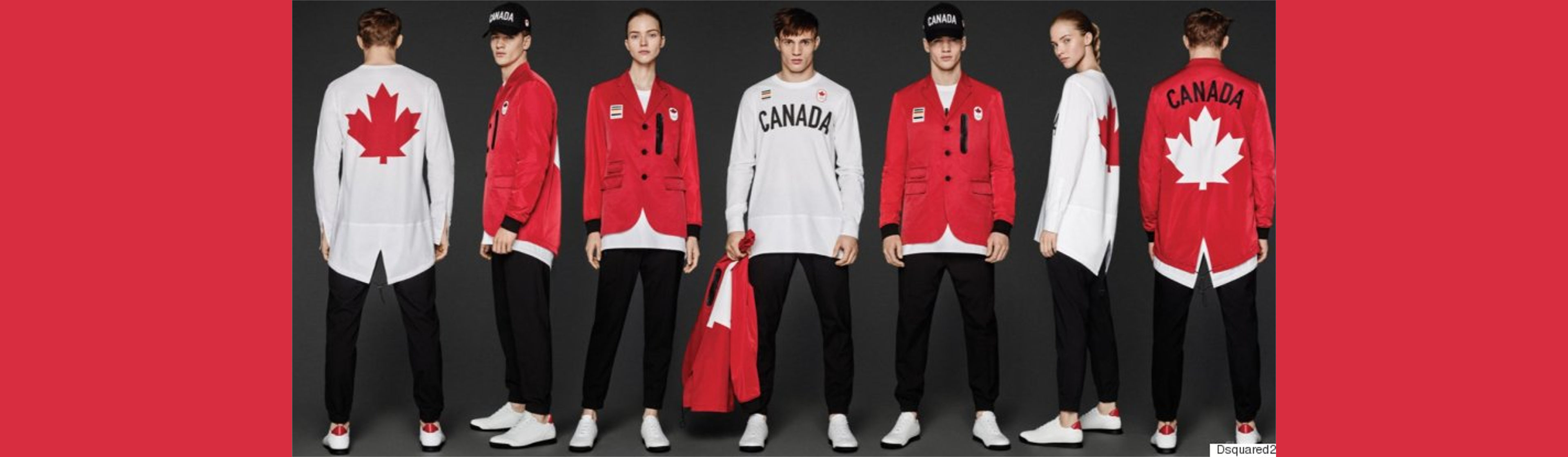 DSquared2's Gold Medal Worthy Olympic Uniform