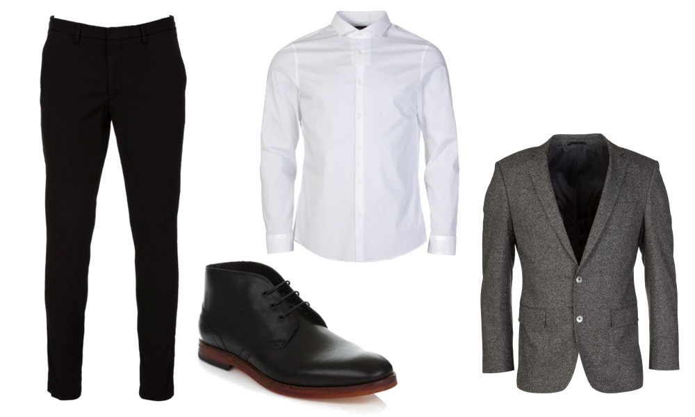 How to wear Chukka boots for formal wear