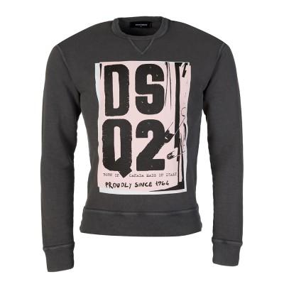 DSquared2 Charcoal Logo Sweatshirt