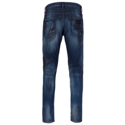DSquared2 Mid-Wash Grease Cool Guy Jeans