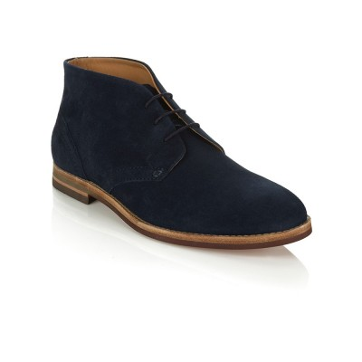 Hudson Navy Houghton Lace Boot