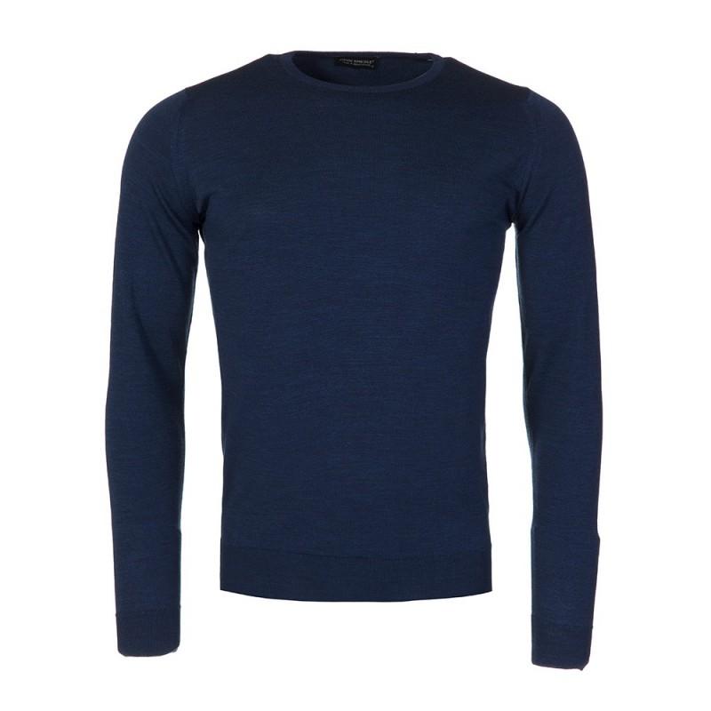 cc426348c8c8 ... Tyburn Slim Fit Polo Shirt · John Smedley Indigo Crew Neck Jumper