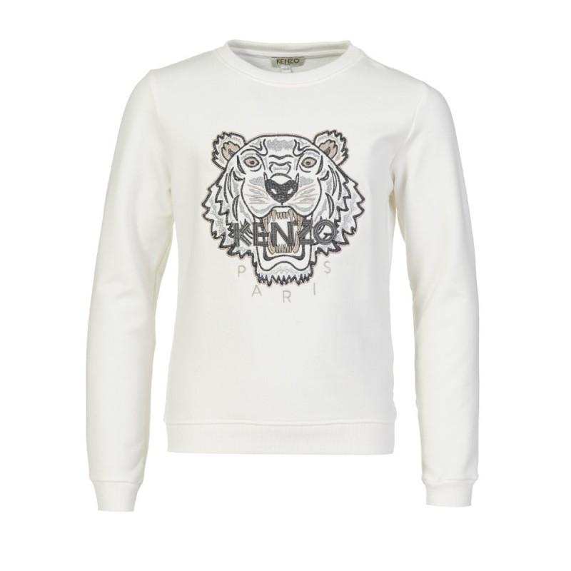 Kenzo Kids Ivory Tiger Sweatshirt
