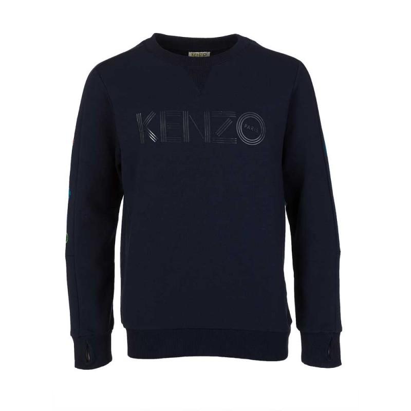 Kenzo Kids Navy Logo Sweatshirt