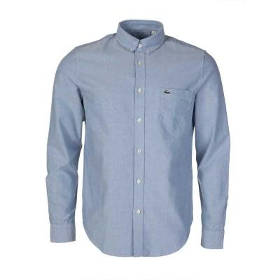 Lacoste Blue Regular Fit Oxford Shirt