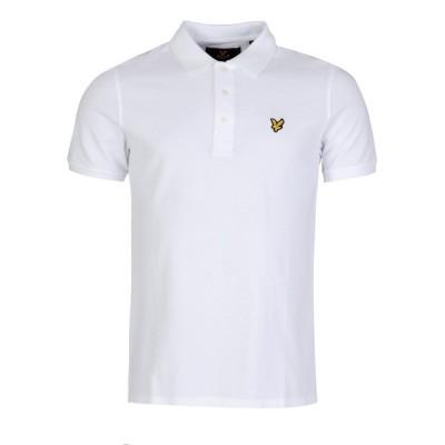 Lyle and Scott White Basic Polo Shirt
