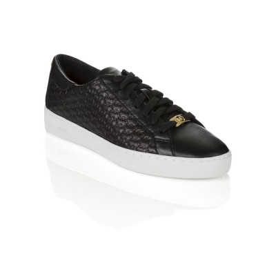 Michael Kors Black Colby Low Top Trainers