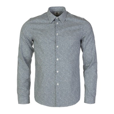 PS by Paul Smith Blue Heart Print Shirt