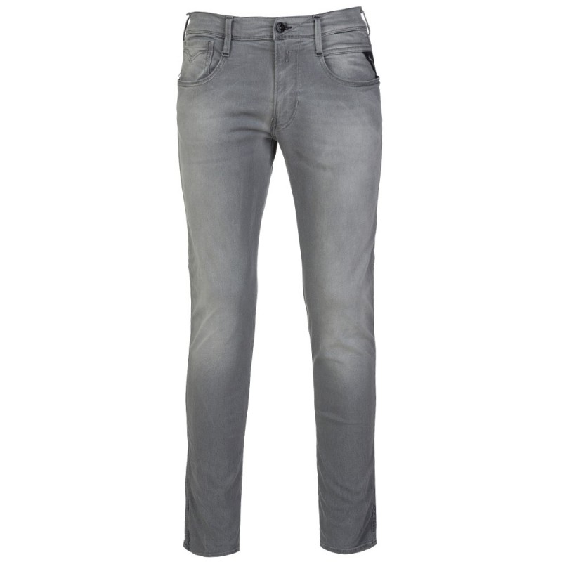 Replay Grey Hyperfree Anbass Slim Fit Jeans