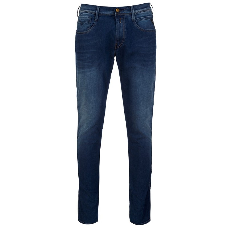 Replay Navy Hyperfree Anbass Slim Fit Jeans