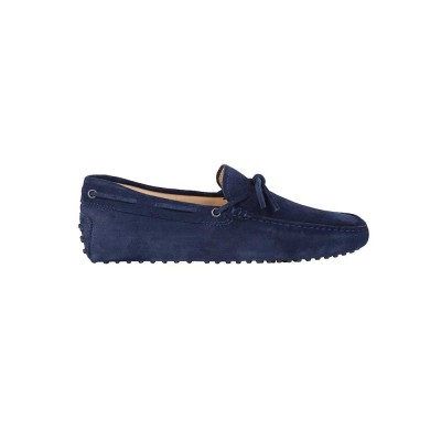 Tod's Gommino Blue Driving Shoes
