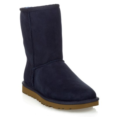 UGG Navy Short Boot