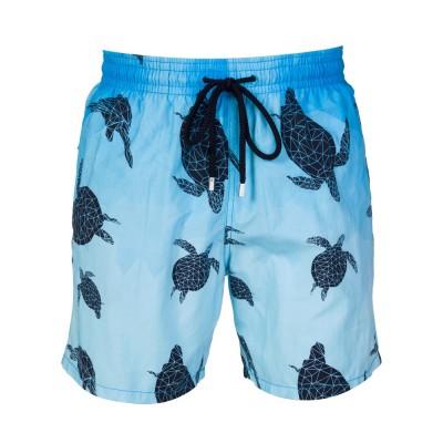 Vilebrequin Blue 3D Turtle Swim Shorts