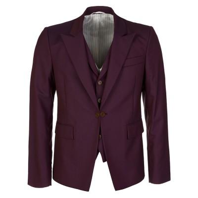 Vivienne Westwood Burgundy Waistcoat Blazer