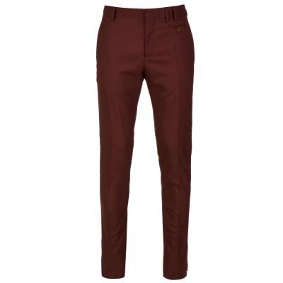 Vivienne Westwood Burgundy Slim Trousers