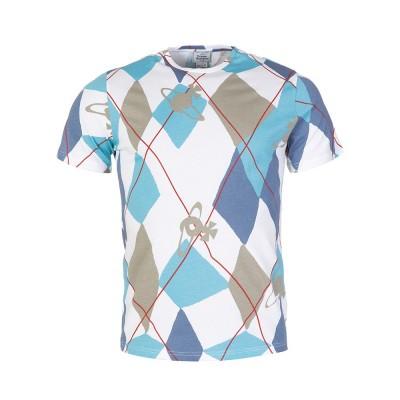 Vivienne Westwood White Diamond Orb Patterned T-Shirt