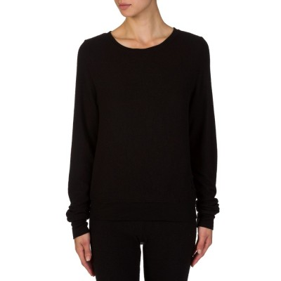 Wildfox Black Beach Jumper