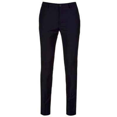 PS by Paul Smith Navy Slim Fit Woven Trousers