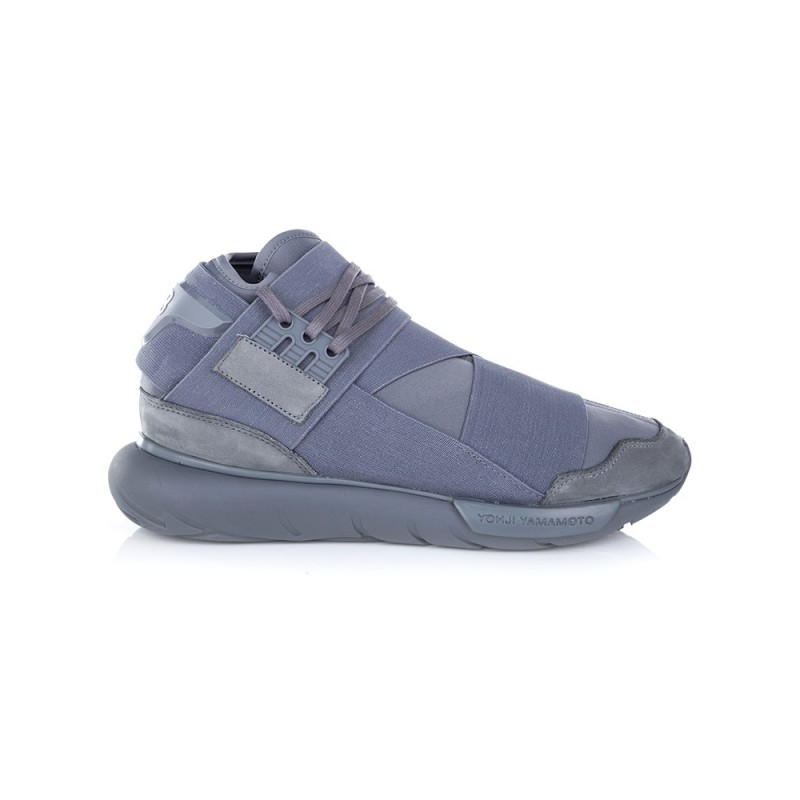 Y-3 GREY QASA HIGH TRAINER
