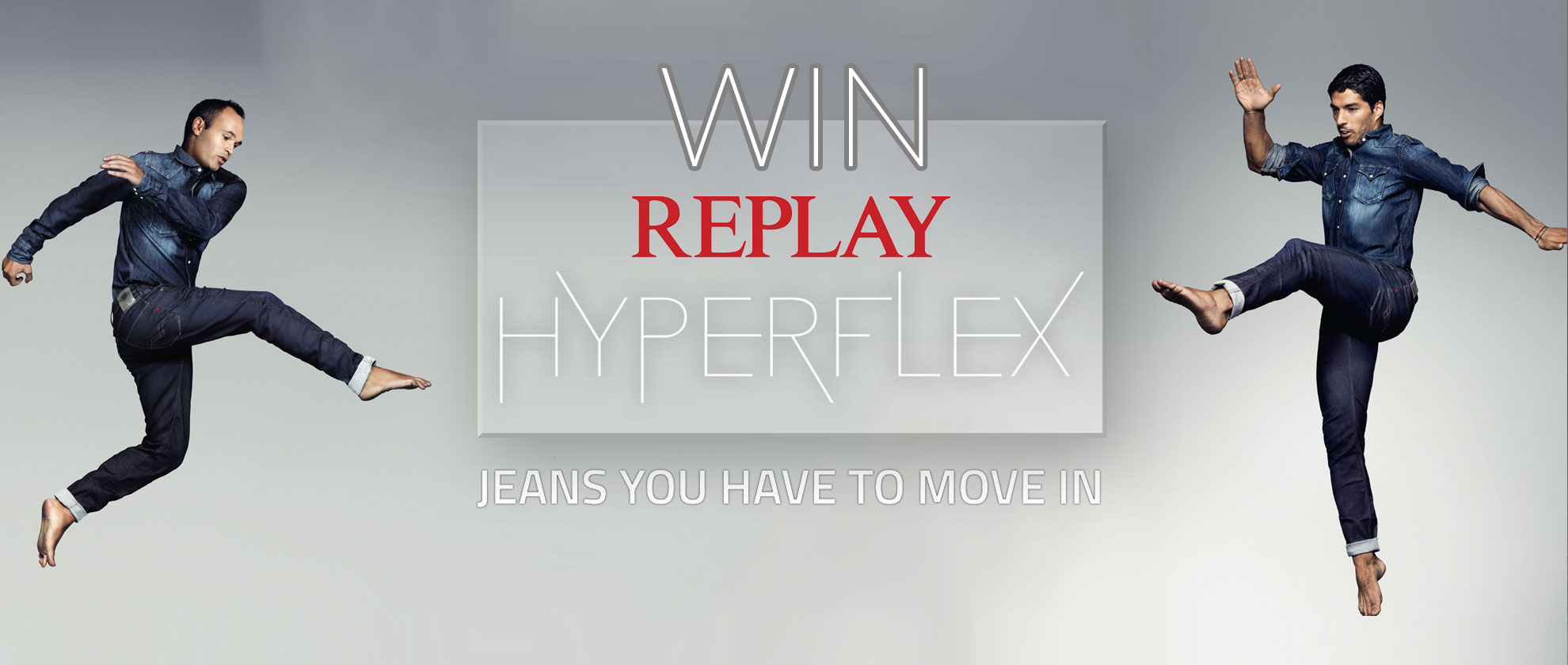 Get Moving to Win a Pair of Replay Hyperflex Jeans!