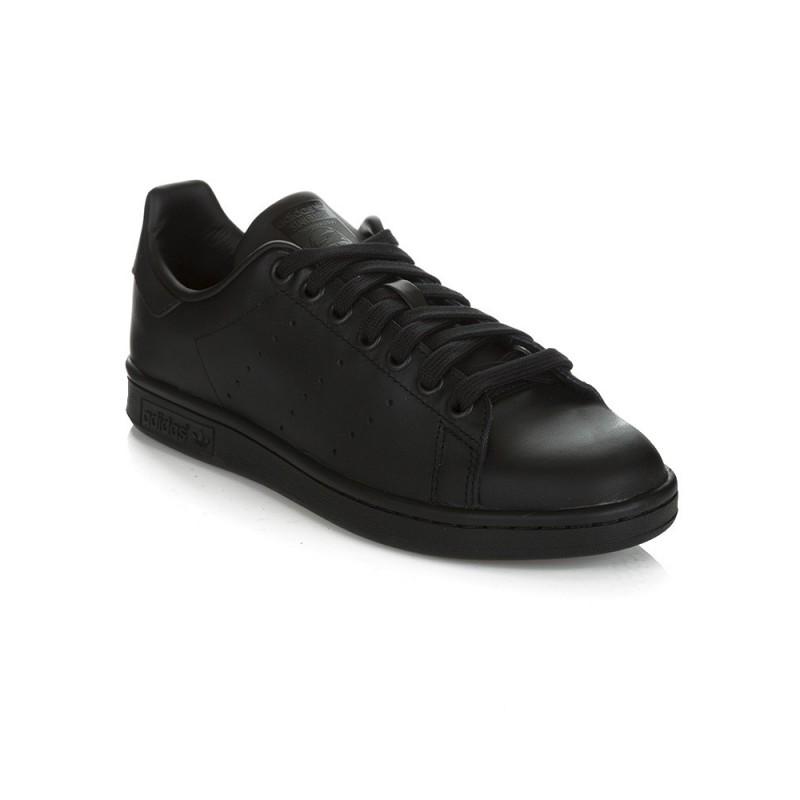 Adidas Black Stan Smith Trainer