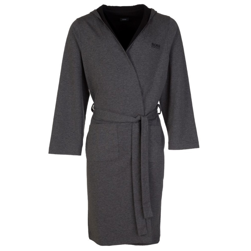 Boss by Hugo Boss Charcoal Hooded Robe