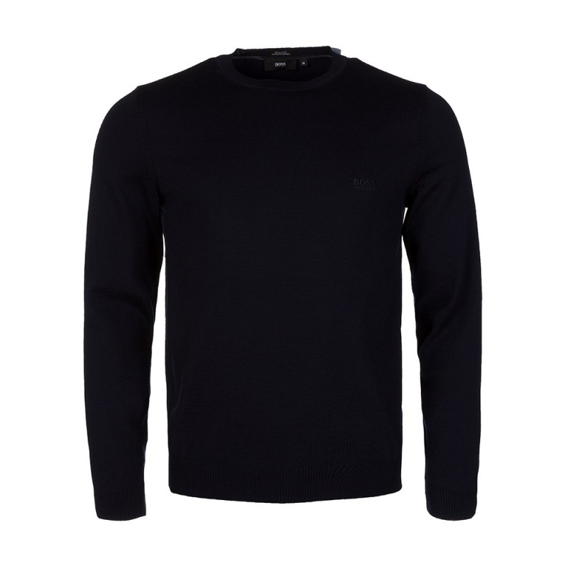 Boss by Hugo Boss Navy Crew Neck Jumper