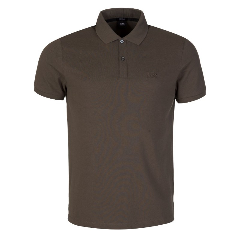 Boss by Hugo Boss Pallas Olive Polo Shirt