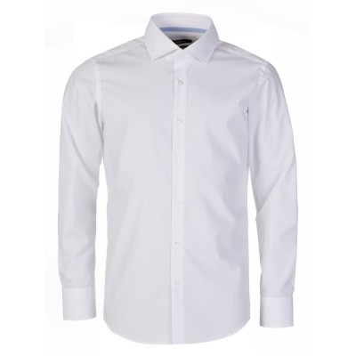 Boss by Hugo Boss White Long Sleeve Gregory Shirt