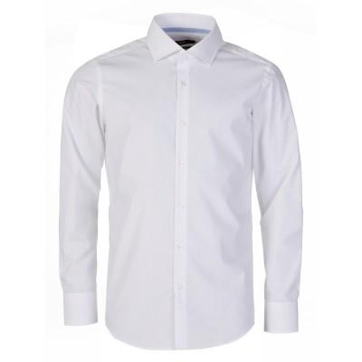 Boss by Hugo Boss White Long Sleeve Gregory Shirt