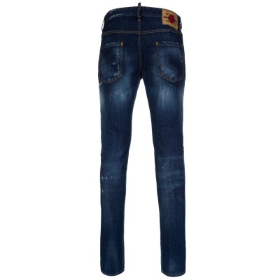 DSquared2 Indigo Distressed Cool Guy Jeans