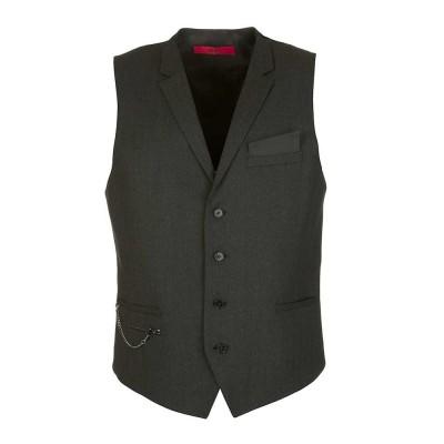 Hugo Charcoal Wyll Waistcoat