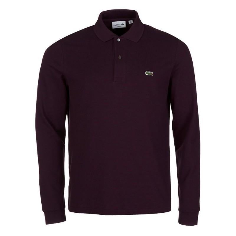 Lacoste Plum Long Sleeve Polo Shirt