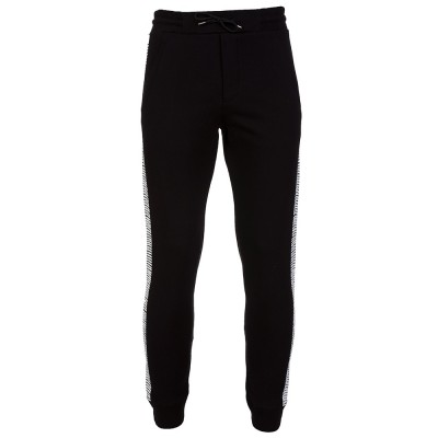 McQ Black Print Sweatpants