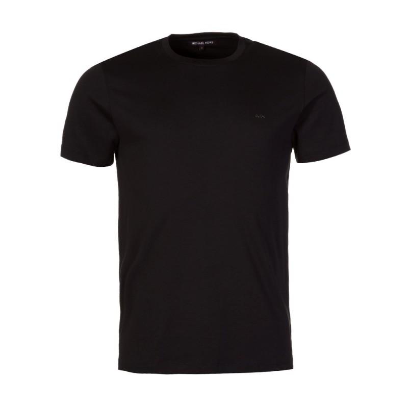 Michael Kors Black Liquid Crew Neck T-Shirt