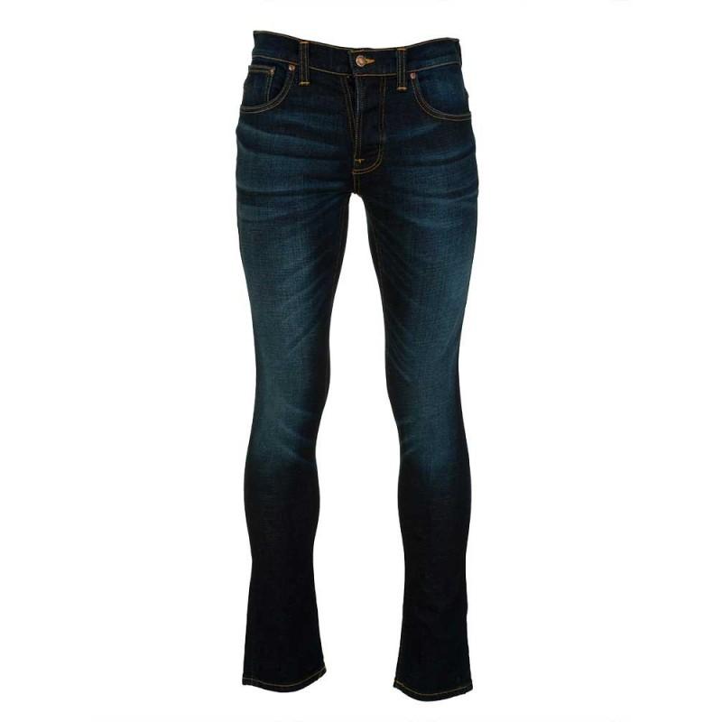 Nudie Jeans Co. Blue Grim Tim Jeans