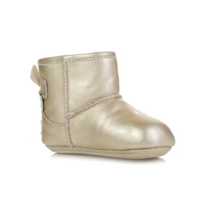 UGG Gold Jesse Bow Booties