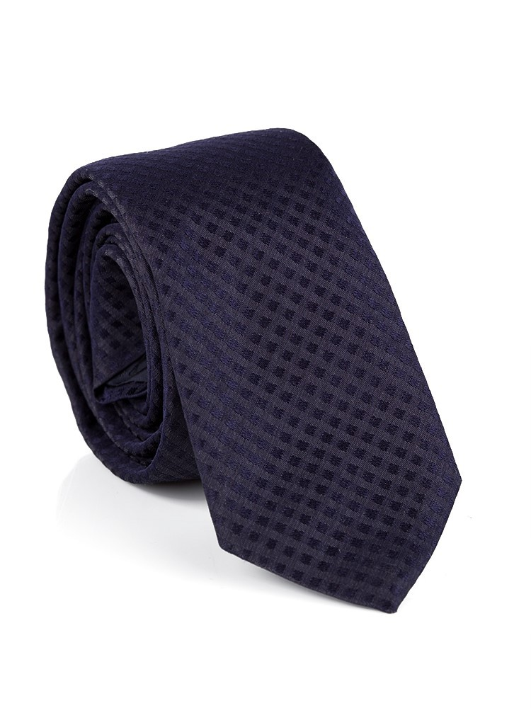 Hugo Boss Navy Silk Tie