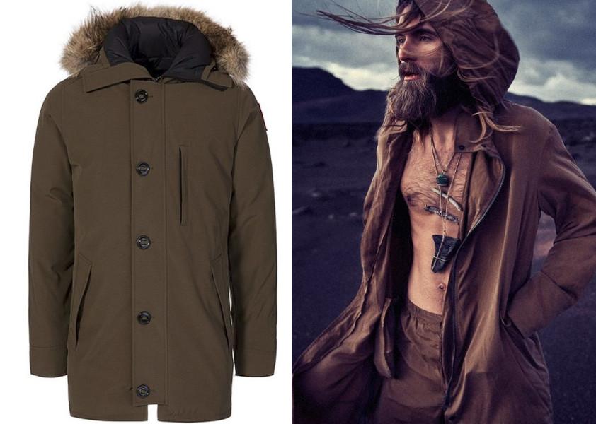 the parker coat