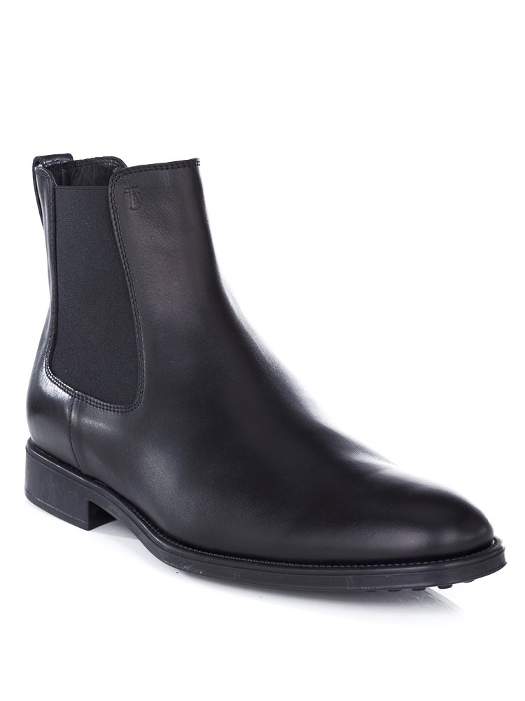 Tod's Black Chelsea Boot