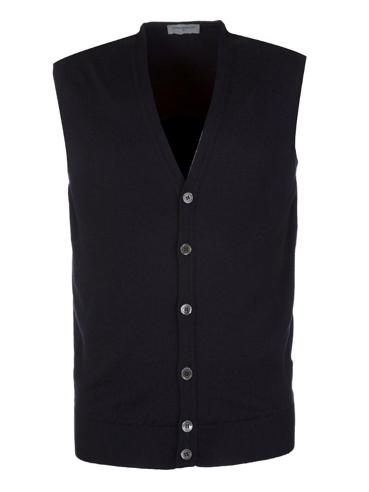 John Smedley Fine Knit Waistcoat