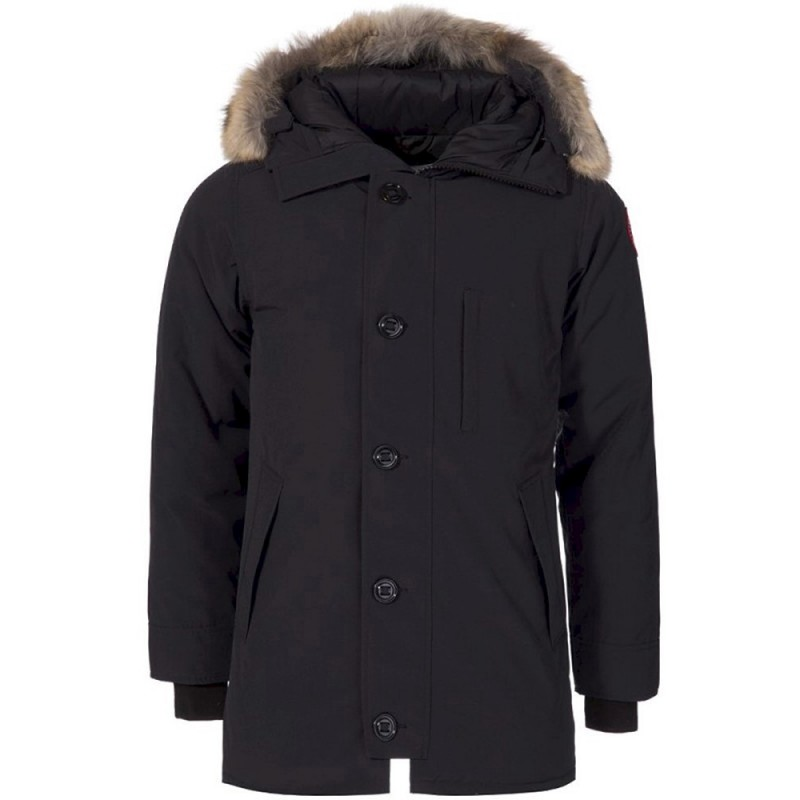 CANADA GOOSE CHATEAU PARKA IN NAVY