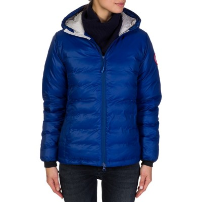 Canada Goose Blue Camp Hoodie Jacket