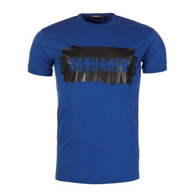 DSquared2 Blue Graphic T-Shirt