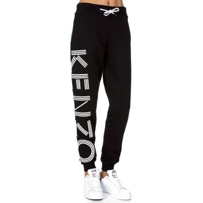 Kenzo Black Logo Sweatpants
