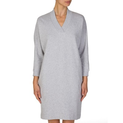 Kenzo Grey V Neck Jumper Dress