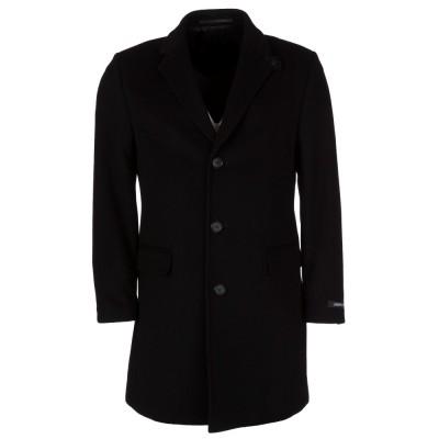 Lagerfeld Black Hurricane Overcoat
