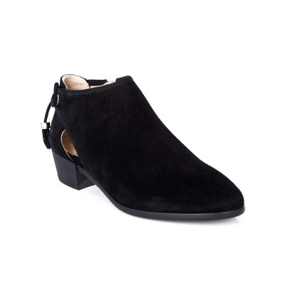 Michael Kors Black Jennings Flat Ankle Boot