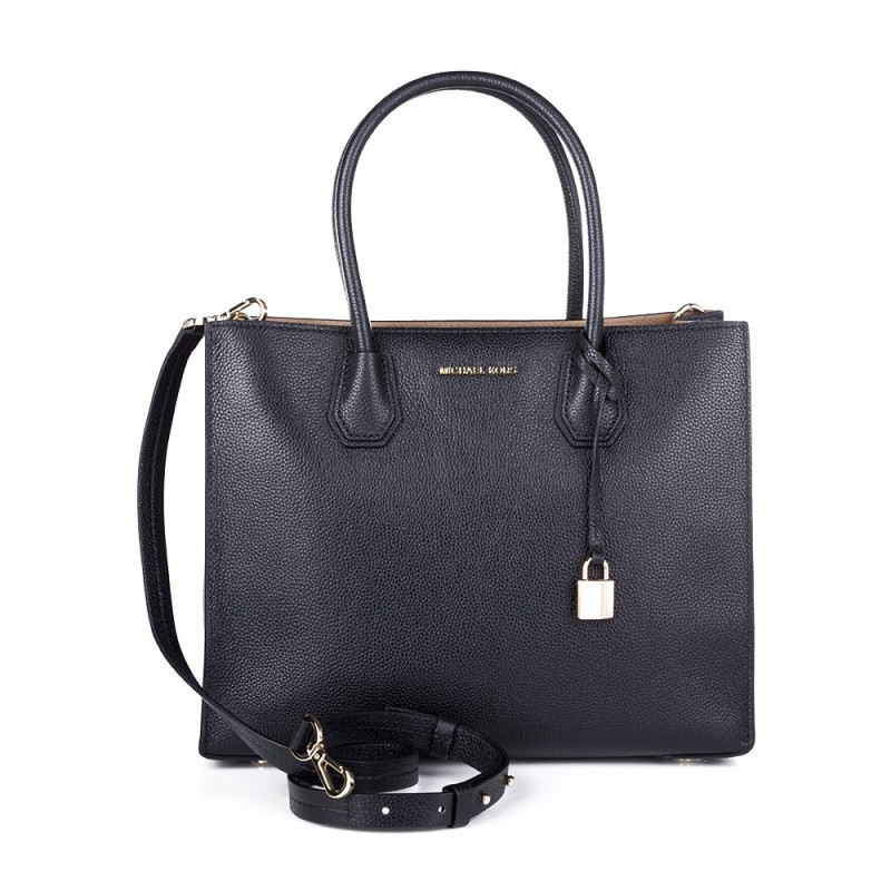 Michael Kors Black Large Convertible Tote Bag